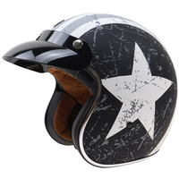 Original TORC Motorcycle Helmet Open Face Helmet For Chopper Style Bikes Retro Style Helmet Witn Internal