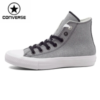 Original New Arrival 2016 Converse All Star II Unisex Skateboarding Shoes Canvas Leather Sneakers Free Shipping