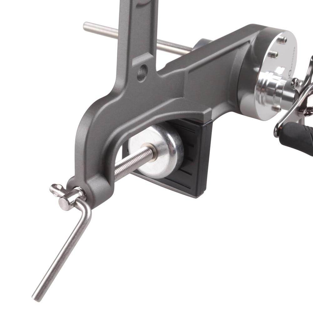 DAIICHISEIKO Portable Fishign Line Winder 3KG Drag Reel Spool Spooler System For Spinning/Baitcasting Fishing Reel Winding Board - 5