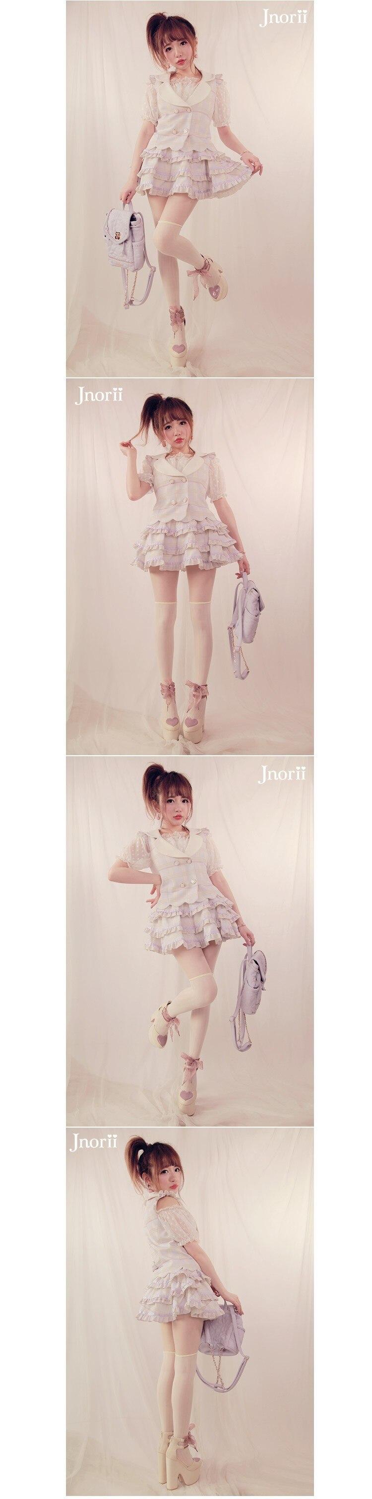Милая юбка принцессы в стиле Лолиты Bobon21, оригинальная, на заказ, Marca dragon, сетчатая, кружевная, многослойная, бальная юбка в стиле лотоса, мини-юбка B1197