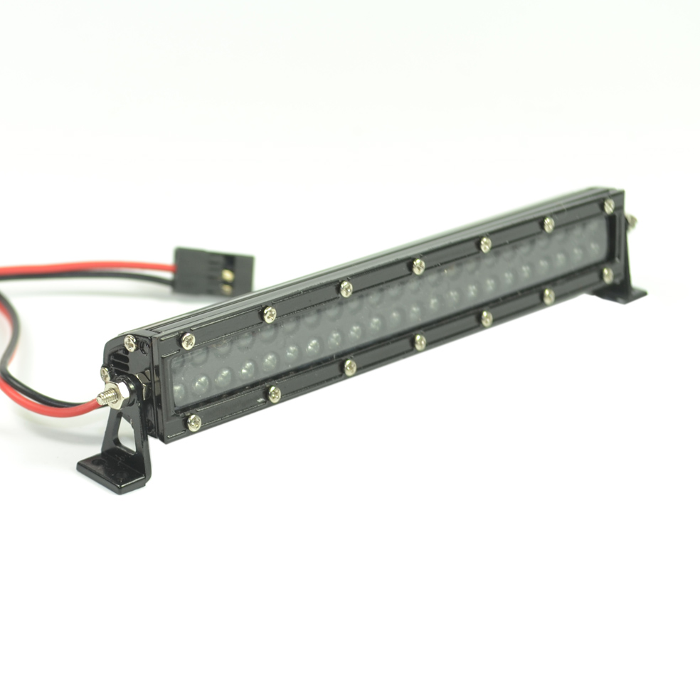 RC Truck Aluminum 44 LED Light Bar for 1/10 Scale Traxxas TRX4 Axial SCX10 D90 CC10