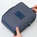Nuevo 2016 Nylon Multifunción maquillaje bolsas de Cosméticos de Maquillaje Organizador de los bolsos para Mujer Para hombre Ourdoor Bolsa de Viaje Bolso