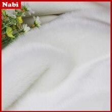 Высококачественный искусственный кроличий мех, ворс 2 см из искусственного меха, 13 цветов, 180 см* 50 см/шт