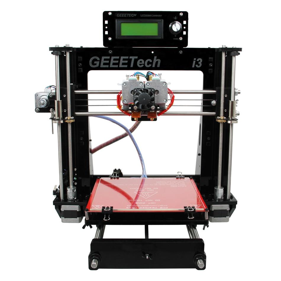 Geeetech I3 Pro C 3D font b Printer b font Dual Extruder Prusa Two Color Printing