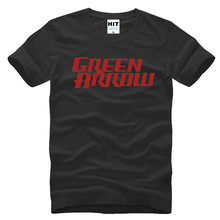 GREEN ARROW Letter Printed Men's T-Shirt T Shirt