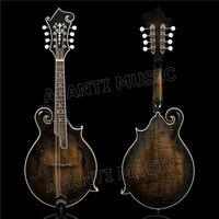 Afanti Solid Spruce top / Flamed Maple Back & Sides / Afanti Mandolin (AMB 201)