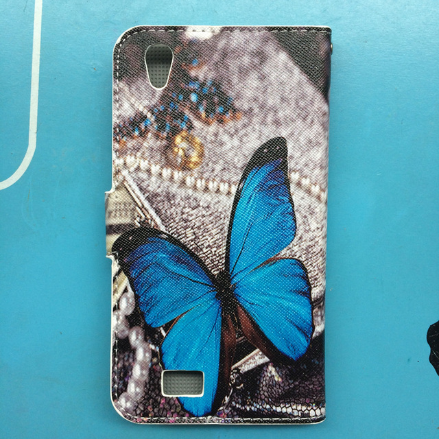 for Philips i908 case fashion Eiffel Tower,Butterfly Colorful,cat kiss fish flip leather Wallet case For PHILIPS i908 cover case