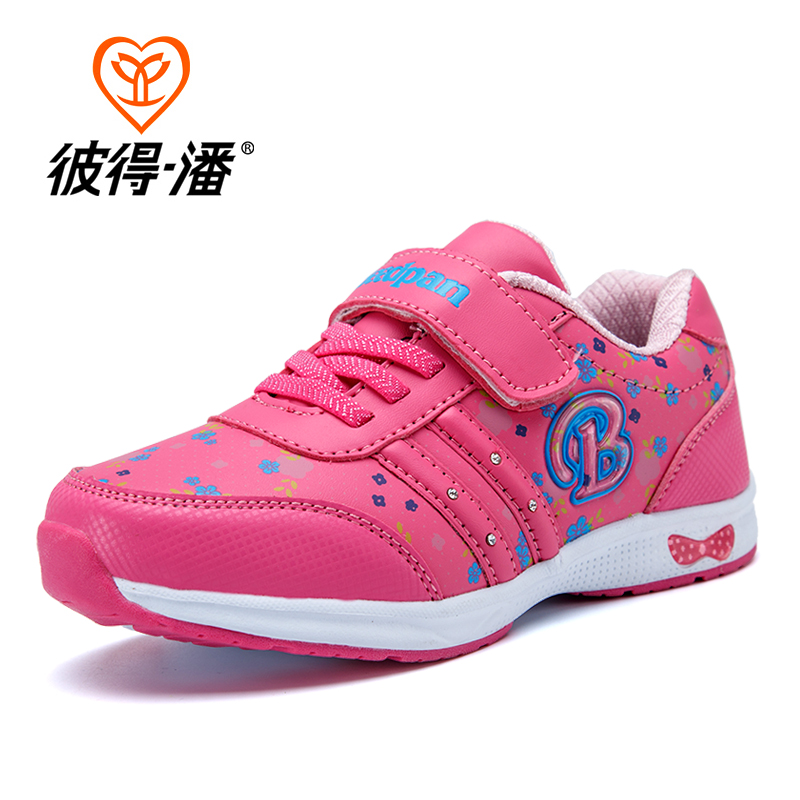 Girls shoes 2016 spring Cartoon children kids sneakers trainers Shoes For Girls Waterproof Sports Casual Shoes girl school shoes