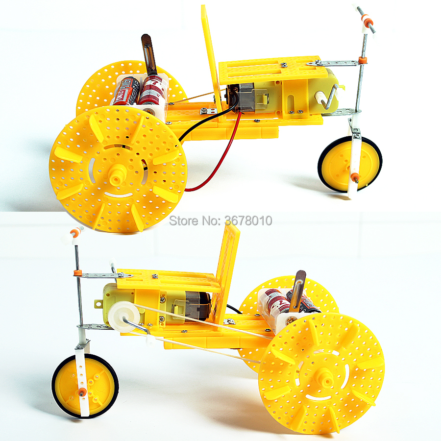 Toys & Games Learning & Education TOPINCN Electric DIY Boat Toy ...