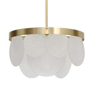 Image 3 - Nordic Modern Gold LED Pendant Lights bedroom dinning room kitchen hanglampen voor eetkamer E27 LED Lamp Edison Light Bulb