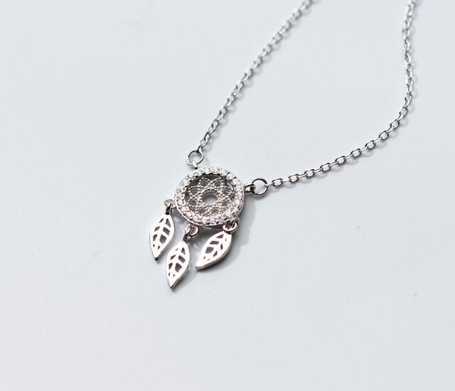 Retro Protector Real. 925 Sterling Silver Jewelry Hollow Leaf - Joyas - foto 1