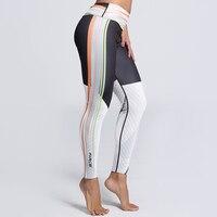 Jlzlshongle الأزياء الجانب شريط طباعة اللباس زائد الحجم الجمنازيوم النساء جديد 5 أنماط ضئيلة السراويل يغطي الرجل لياقة مرونة sportes