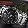 Curren mens relojes de primeras marcas de lujo de cuarzo relojes ejército militar reloj de los hombres completa steel business casual sport reloj de moda masculina