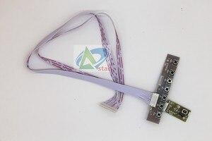"Image 3 - TV + HDMI + VGA + AV + USB + AUDIO TV LCD treiber platine 18.5 ""HM185WX1 400 1366*768 LCD controller board DIY kits"