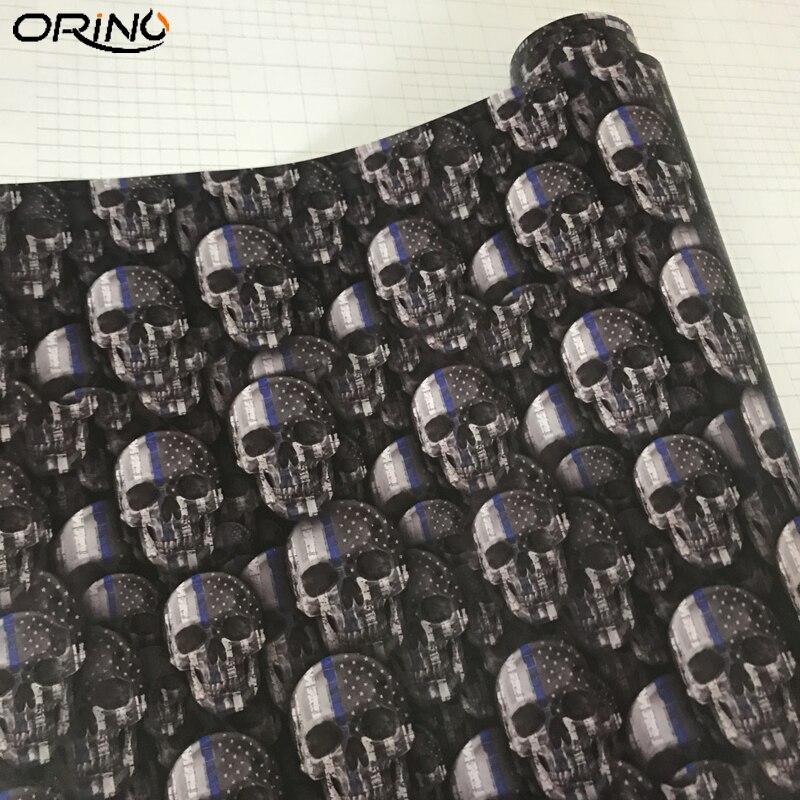 Skull Sticker Vinyl Wrap-4
