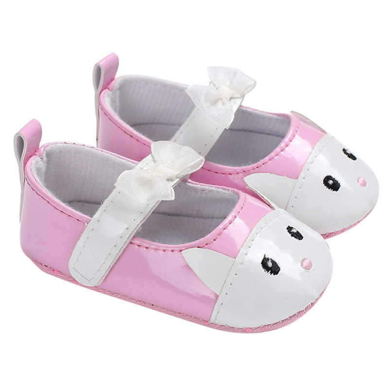 Summer Baby Infant Kids Girl Soft Sole Crib Toddler Butterfly-knot Newborn Shoes First Walkers NDA84L10