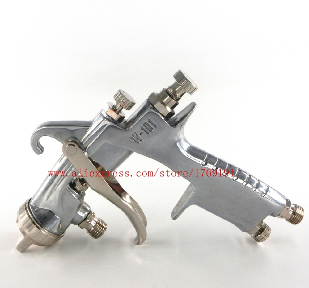 HVLP W101 Handle W 101 Spray Gun Pressure Feed Type 1 0 1 3 1 5mm