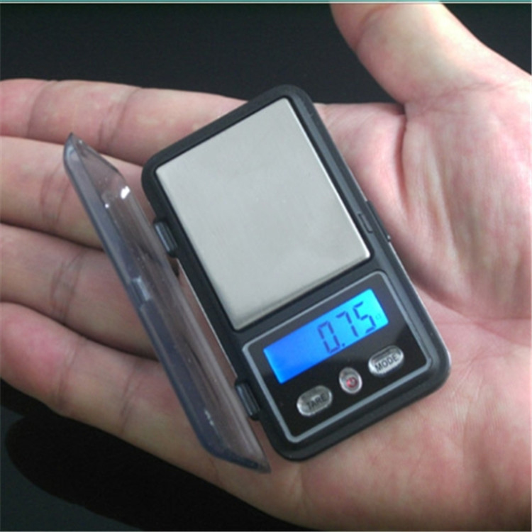 Mini Pocket Jewelry <font><b>Scale</b></font> 0.01 <font><b>Gram</b></font> protable precision weight Balance for Gold Diamond Bijoux Coin LCD Electronic image