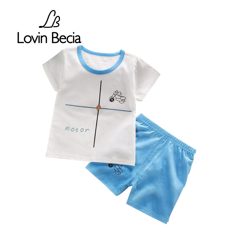 2pcs/sets  Sale boys girls Clothing set Summer T-shirts Pants suits Baby Children cute print Clothes Kids casual fashion ad children s mickey thick sets 2 10 age cotton sweater pants boys girls christmas t shirts trousers kids clothing clothes