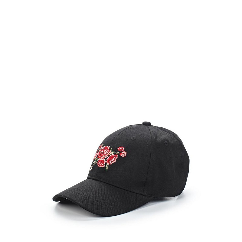 Baseball Caps MODIS M181A00527 cap for female TmallFS floral flower hip hop snapback hats flat adjustable baseball cap