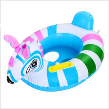 Thickening Inflatable Children Swimming Race Cartoon Tiger Swimming Laps Infant Swimming Alar Circle Swimming Boat LMY602RR