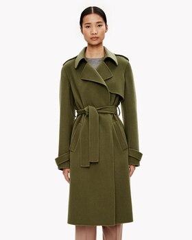 Women Classic Woolen Coat 1