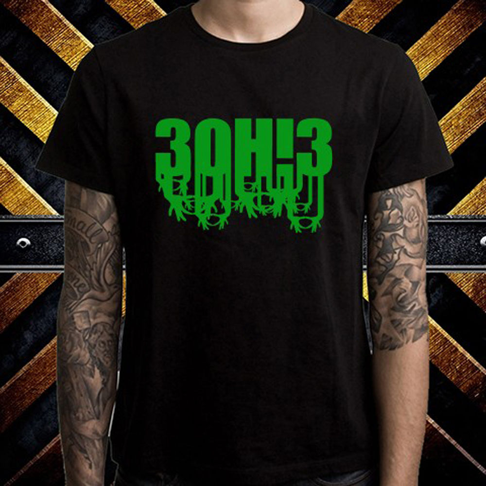 New 3OH!3 Electronic Music Band Logo Mens Black T-Shirt Size S to 3XL