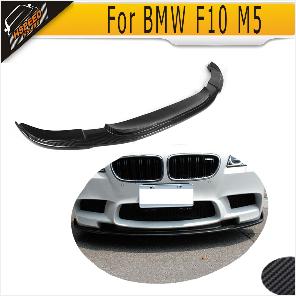 Для 5 серии Прямой задний бампер из углеродного волокна спойлер диффузор для BMW F10 M5 Sedan 2012- Черный FRP