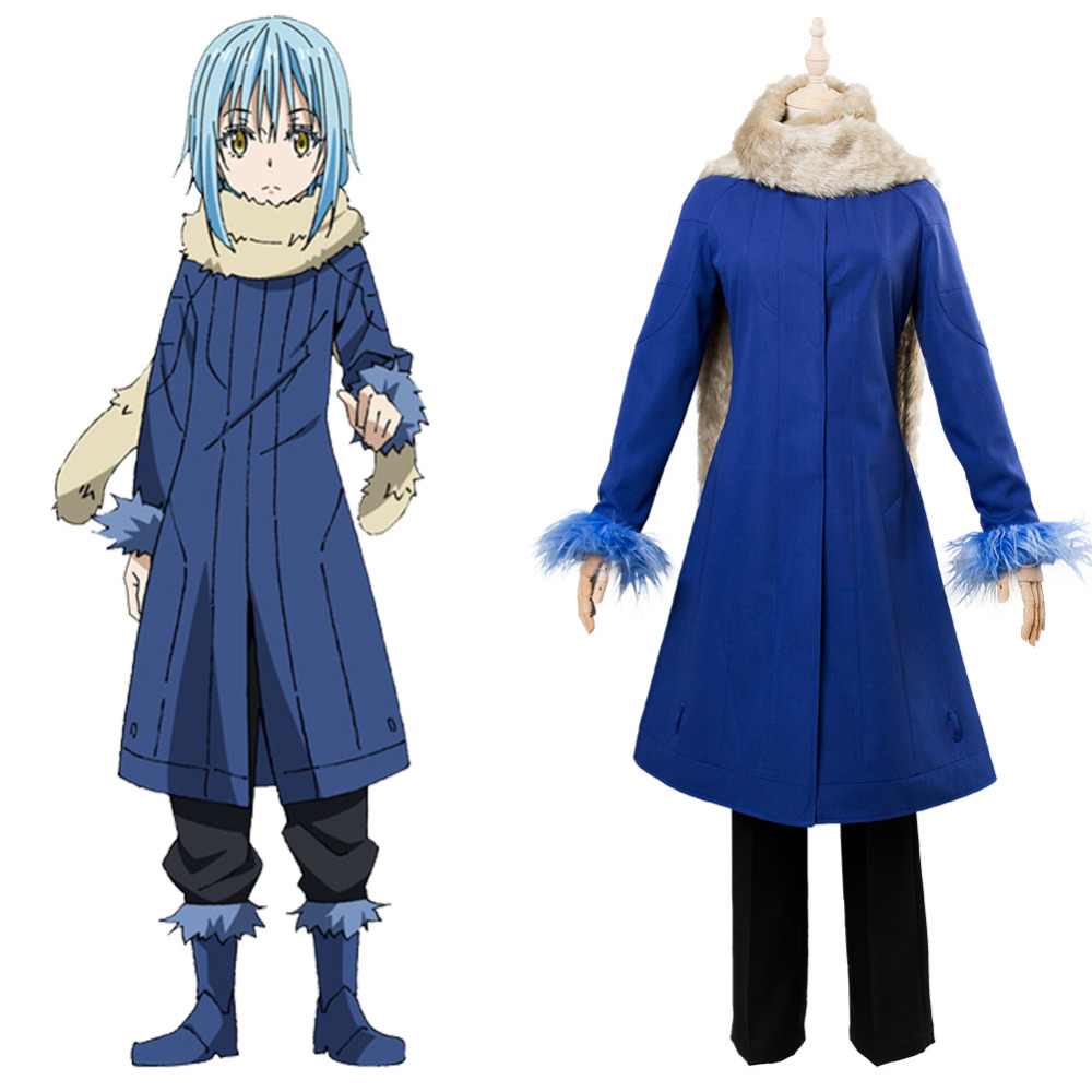 Anime That Time I Got Reincarnated As A Slime Satoru Mikami Rimuru Tempest Cosplay Costume For Christmas Halloween
