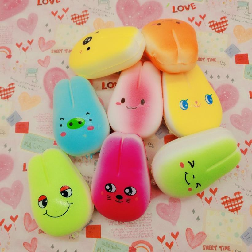 2PC Random Rabbit Slow Rising Collection Squeeze Stress Reliever Toy squishies anti stress Decompression Toys kids #20