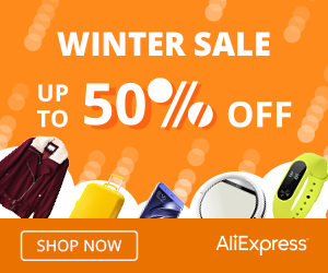 Recommending AliExpress Affiliate Partner Winter Sale 50% Special Offer