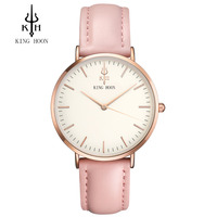 Ladies Fashion Quartz Watch Women Leather Casual Dress Women S Watches Rose Gold Crystal Reloje Mujer