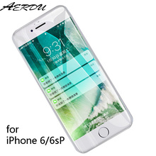 Screen Protector Tempered Glassfilm for iPhone 6 6s Plus 9H 2.5D thin AntiScratch Clear Screen Protector matte for iPhone6 glass цены