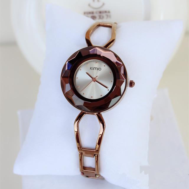 Reloj de lujo de cuarzo para mujer