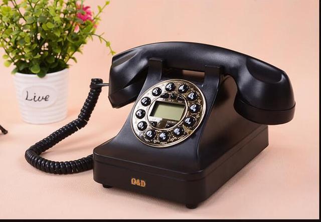 Континентальный Античный Телефон Старинные Телефон Ретро Телефон Стационарные Антикварной Творческой Личности