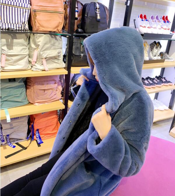 Streetwear vison épais Lanxirui 12