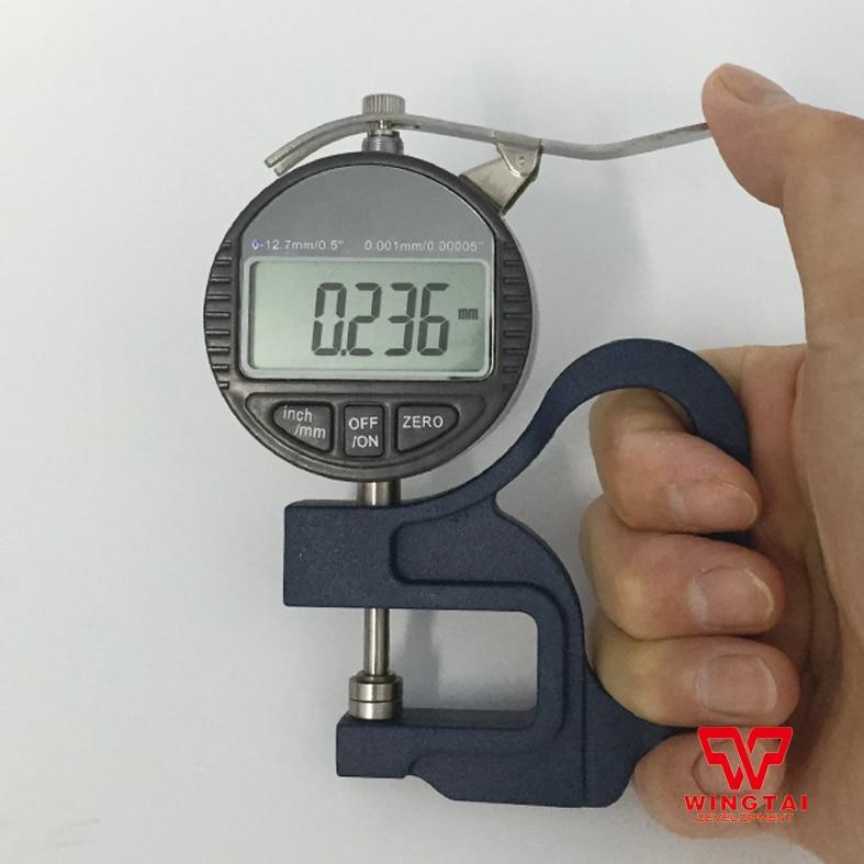 Digital Dial Thickness Gauge For Plastic  Film,Paper 0 5mm 0 001mm mechanical micrometer gauge dial thickness gauge for film paper
