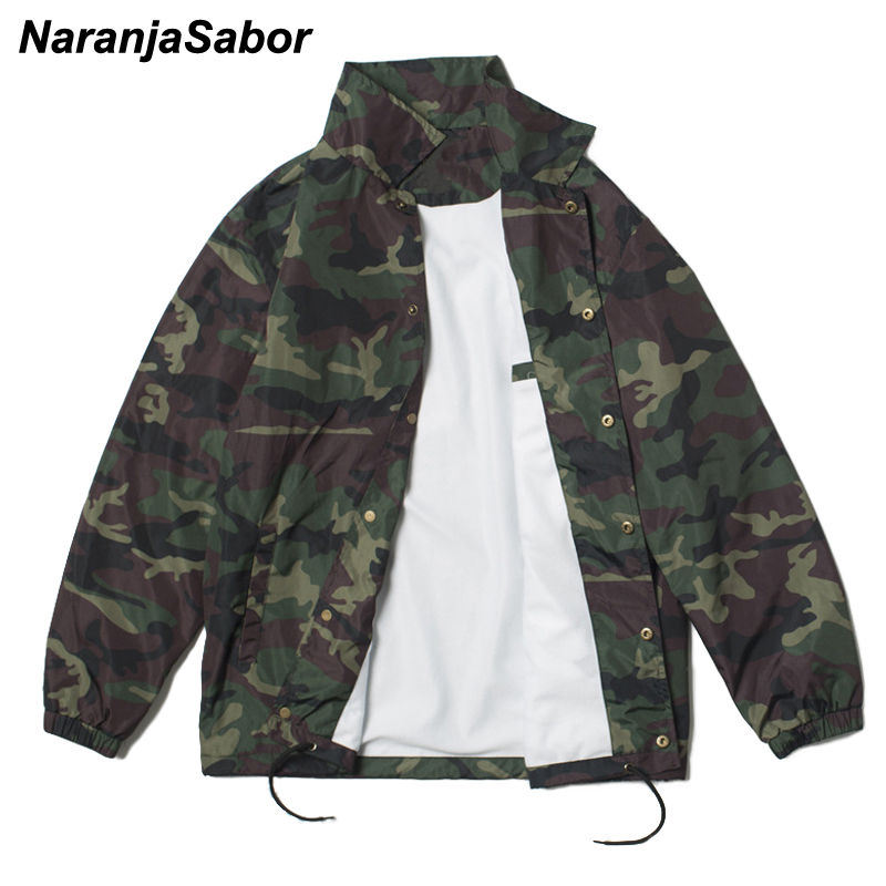NaranjaSabor Men Women's New Jackets Spring Autumn Casual Coats Hooded Jacket Fashion Male Female Outwear Brand Clothing N524