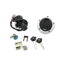 2011 2015 Suzuki Için GSXR600 GSXR750 GSX R GSXR 600 750 Kontak Anahtarı Kilit Yağ Yakıt Gaz Tankı kapatma başlığı Kilidi 2 anahtar Setleri