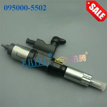 ERIKC 095000-5502 auto truck fuel injector (8-97367552-3) diesel CR injection system 0950005502 (8973675523) für ISUZU