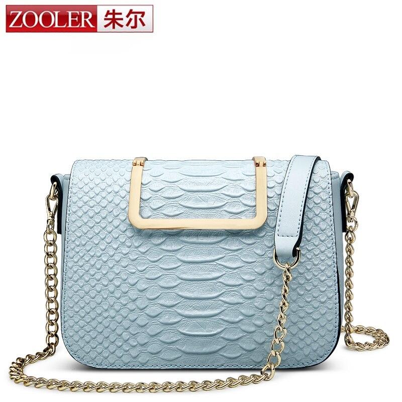 ФОТО Limited!ZOOLER Serpentine pattern women leather bag real leather messenger bags stylish woman shoulder bag bolsa feminina #6926