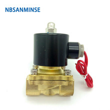 2W160-15 2W Series Solenoid Valve (Large Aperture) Direct Drive Type High quality Ningbo Sanmin (NBSANMINSE)