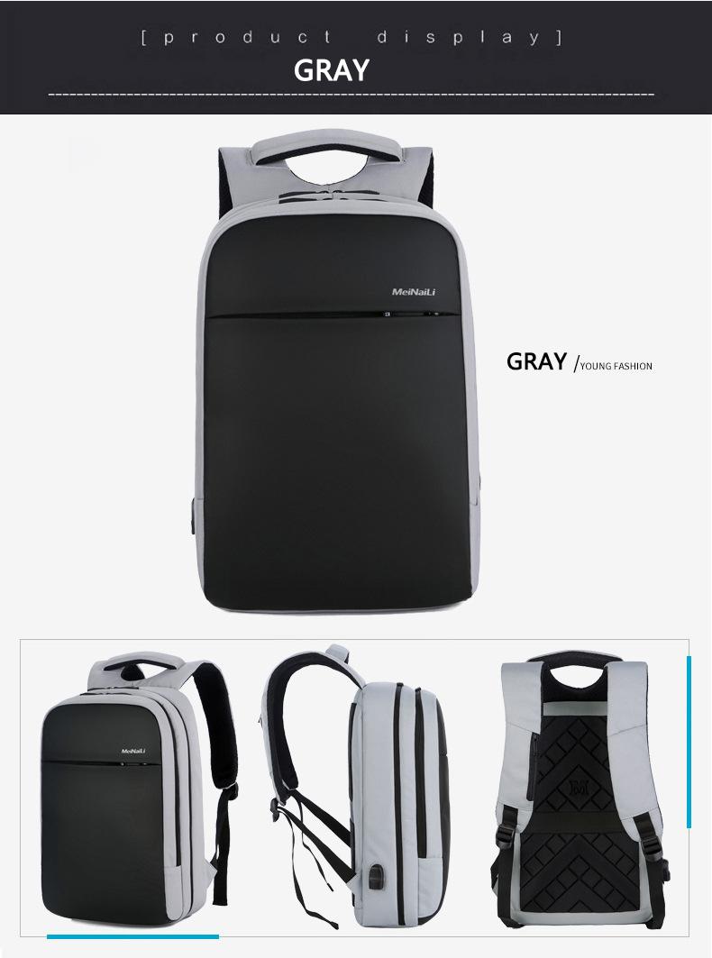 HTB1VhsRXLvsK1Rjy0Fiq6zwtXXac - Mens 15.6 inch Laptop Business Backpacks Waterproof Male Travel