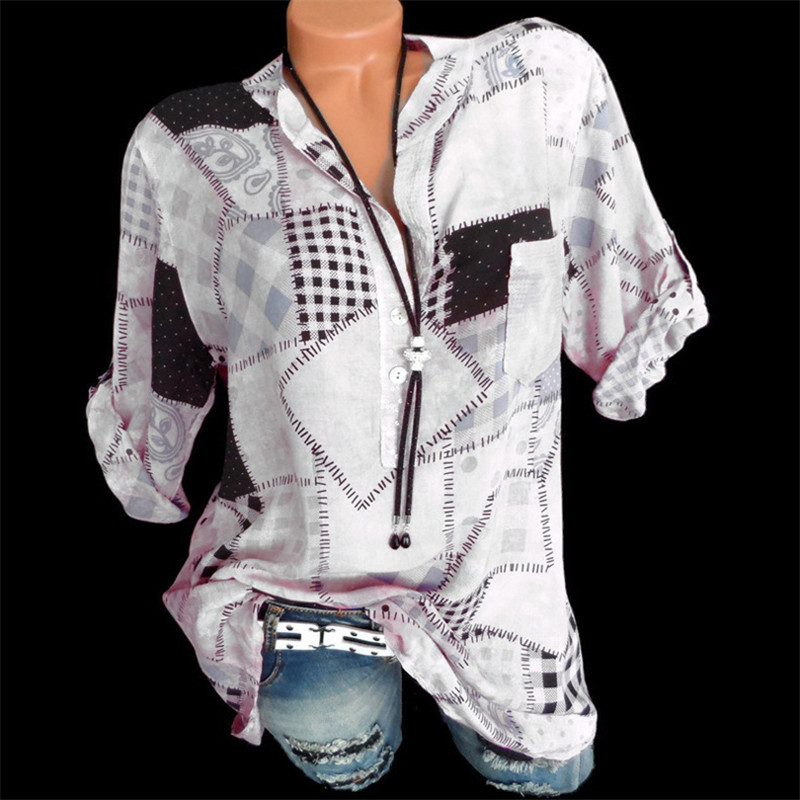 Fashion Women Chemise Femme Plus Size 5XL   Blouse     Shirt   Women Blusas Blusa Feminina Ladies Tops Clothes Womens Tops and   Blouses