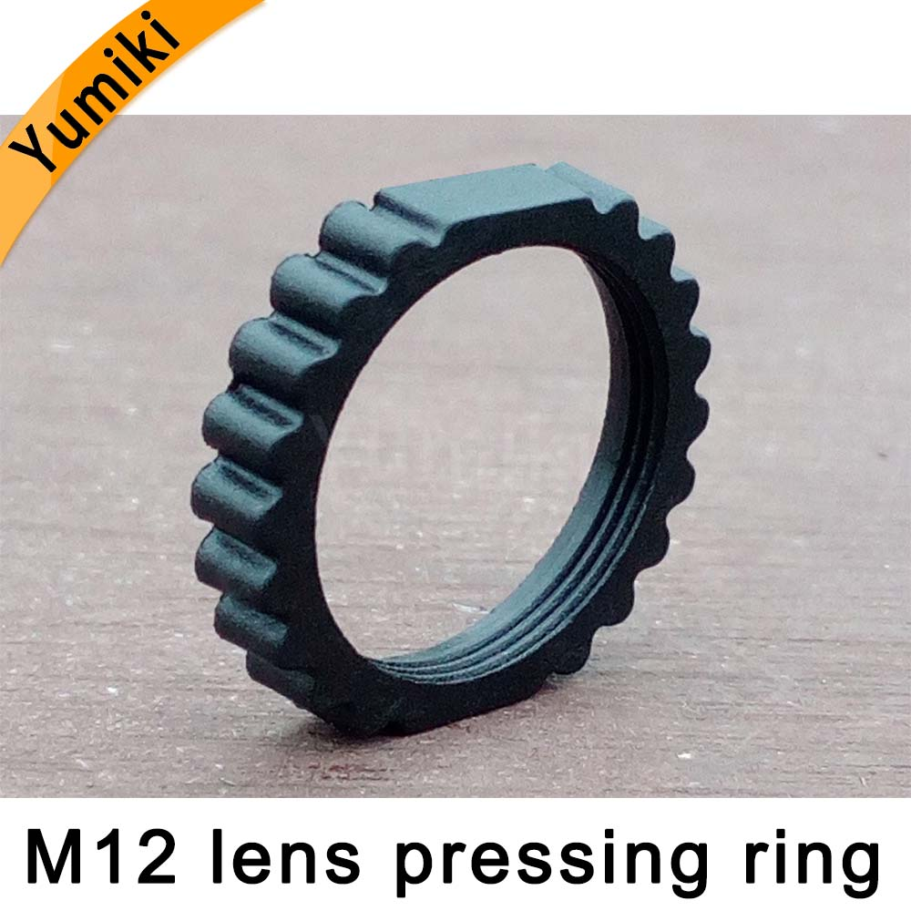 Yumiki M12 Lens Camera Mount CCD Holder Fixed Ring M12 Lens Fastening Ring Small Lens Pressing Ring