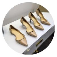 FITOW/модные женские туфли лодочки; повседневные женские туфли из лакированной кожи белого цвета; шипы со штифтовым соединением; туфли на высо