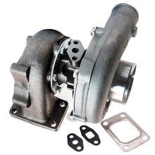 Turbocompresor T3 T4 T04E .57 A/R Universal, aceite frío para 1,6l A 2,3l 400HP