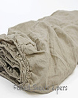 French Washed Linen fitted sheet Pure Linen Sheets Children Natural Stain Bed Linen Cover bedspread double bed fitted sheets