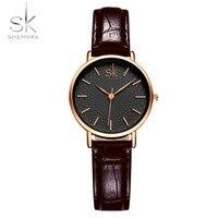 Shengke Brand Luxury Women Watches Fashion Creative Gold Ladies Quartz Watch Women Wristwatch Female Clocks Reloj