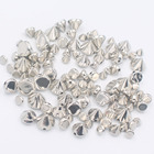 Free shipping 200pcs/lot 6mm Silver Bullet Rivet Spikes Stud Punk Roker Shoes Bag Leather craft Accessories for clothes